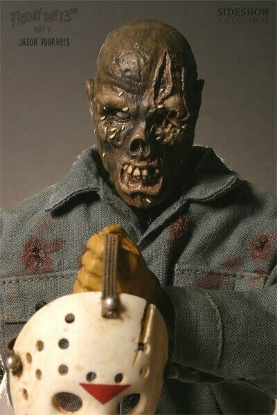 Sideshow Collectibles Jason Voorhees 1 6 Friday 13th Part 6 Jason Lives Figure