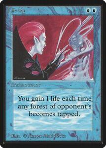 Time Elemental 4th Edition HEAVILY PLD Blue Rare MAGIC GATHERING CARD ABUGames