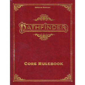 Details about Pathfinder 2nd Edition Pathfinder Core Rulebook (Special  Edition) (P2) 2E