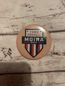 🖤 Moira Rose Town Council Schitts Creek Inspired XL Button Pin Badge 🖤