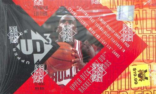 1997 Upper Deck UD3 Basketball Sealed Retail Box