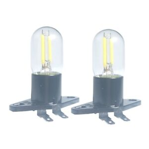 Details about 2 Led Filament Light 1 5w Z187 Microwave Oven Bulb For Galanz  Bosch Refrigerator