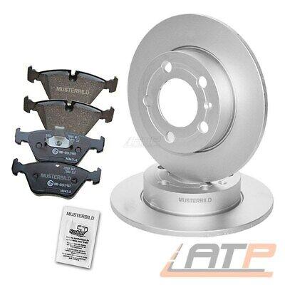 ATE2 Bremsscheiben Voll 261 mm für Mazda Bremsbeläge Hinten u.a