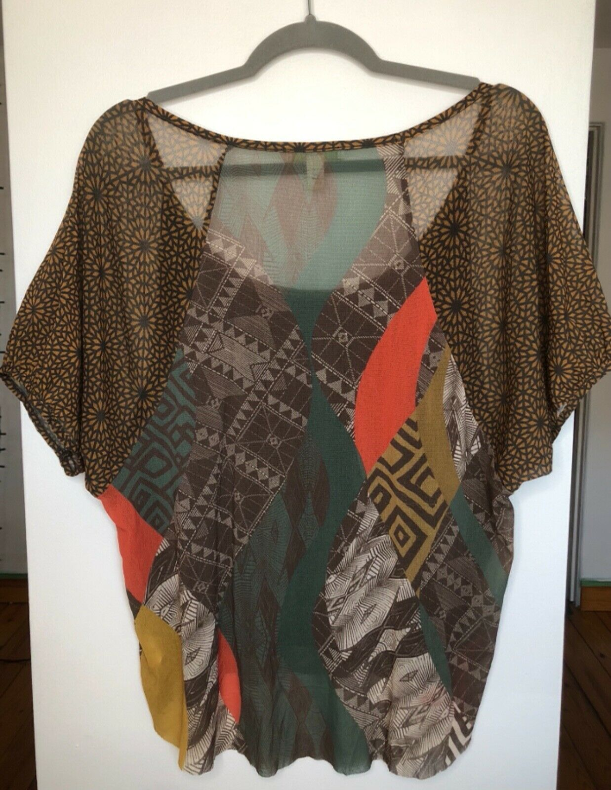 WESTON WEAR Womens Size Small Nylon Shirt Sheer M… - image 5