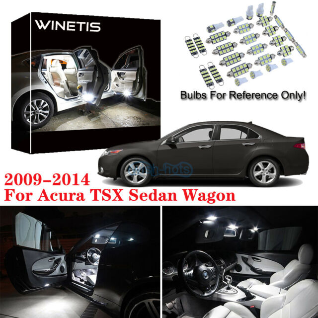 New White LED Interior Lights Package Deal For 2009-2014