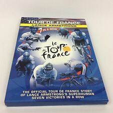 Lance Armstrong 7 In A Row (Legends of the Tour De France - DVD 2005, 2-Disc