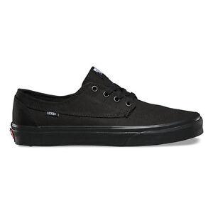 Vans BRIGATA Black Black Skateboarding Sneakers Discounted (533 ...