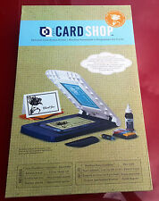 Yudu CardShop Personal Card Screen-Printer Complete Printing Kit Sealed  2000899