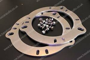 """BMW F10 F11 5 Series 4"""" Front Speaker Adapters"""