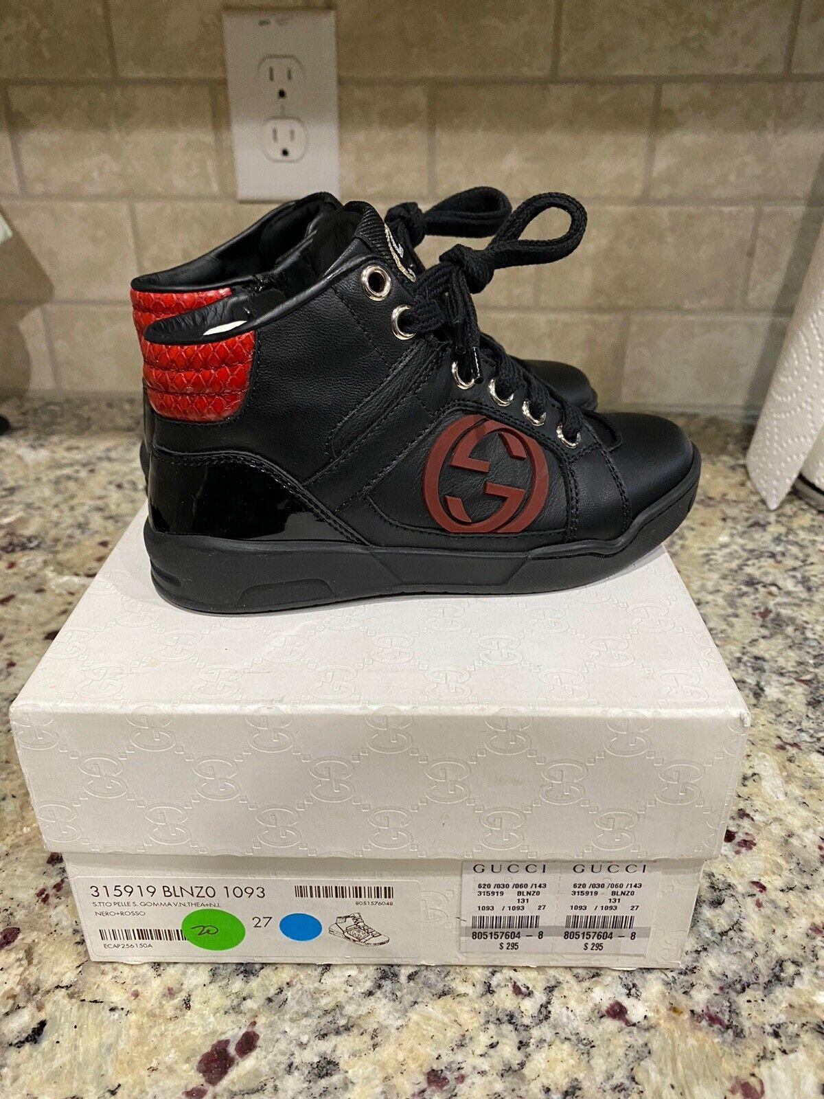 Geox Kids Fedirico - Black (Leather