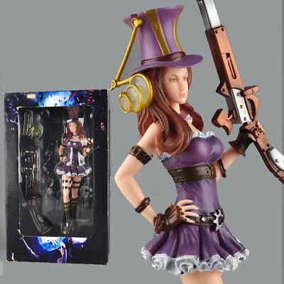 League of Legends Piltover Enforcer Vi PVC Figure Toy Gift New No Box