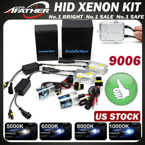 Details about Xenon HID Conversion Light 9006 HB4 9012 Bulbs Ballasts  Headlight, Foglight 55W