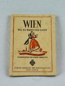 Buch-Wien-wie-es-weint-und-lacht-Marouschek-Osterreich-Austria-Otto-Frei-Stempel