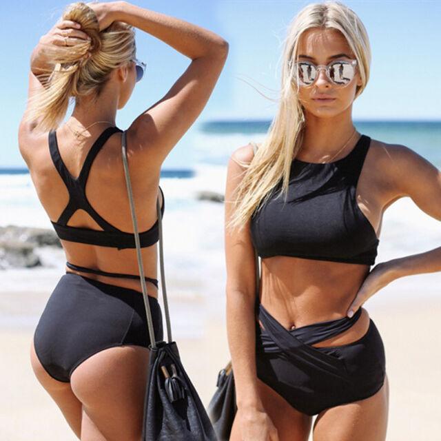 Fashion Women Strappy Bustier Bralette Sport Bra Bikini Crop Top Blouse Vest
