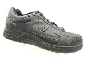 newest d84fc 319d7 New Balance 576 Black Leather Athletic Sport Lace Up Walking ...