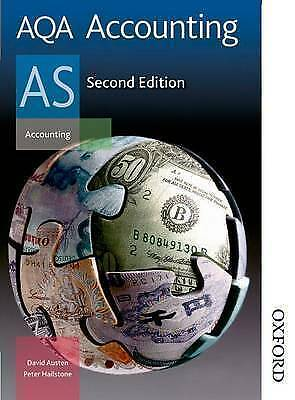 1 of 1 - AQA Accounting AS 2nd Edition-ExLibrary