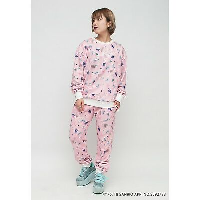 Hello Kitty Pink Sweatshirt Sweatpants 2pc Set Designed by galaxxxy eBay Exclusi