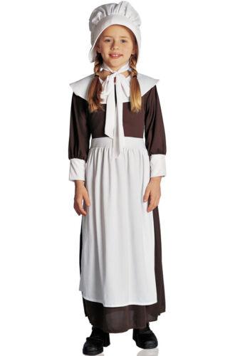 Brand New Colonial Pilgrim Girl Child Halloween Costume