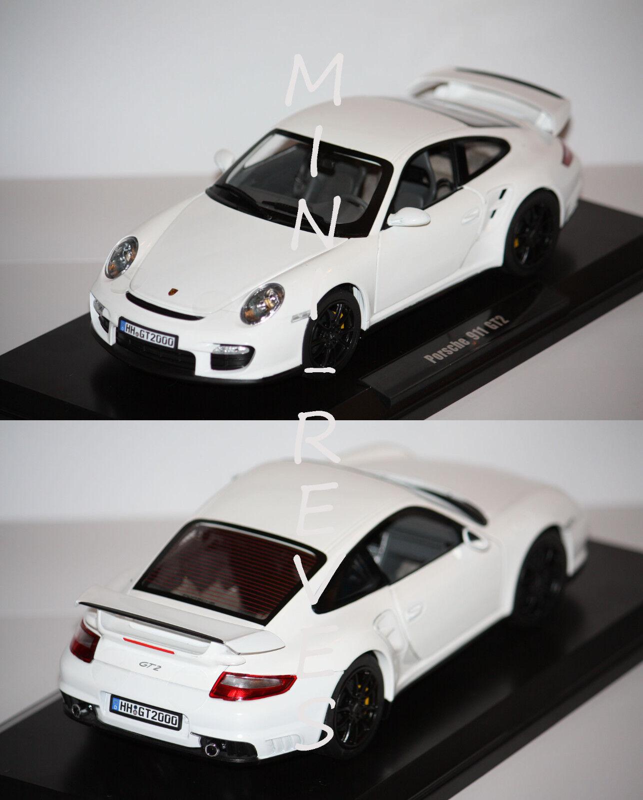 Norev Porsche 911 GT2 2007 Blanc 1 18 187572 5