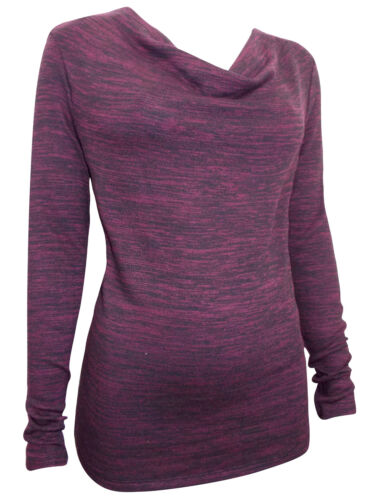 EX M/&S LADIES WOMENS Long Sleeve Cowl Neckline Jumpers SIZE 10 12 14 16 18 20