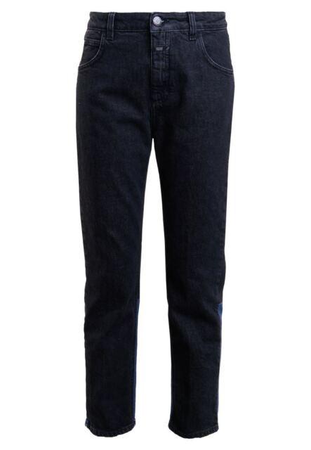 CLOSED W27 HEARTBREAKER Damen Jeans Hose Straight Leg Schwarz Neu A4844
