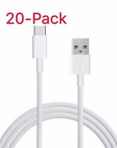 20x-USB-C-Type-C-Cable-Fast-Charging-Cord-For-OEM-Samsung-Galaxy-S9-S8-Note-8-9