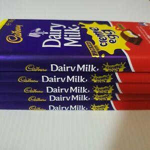 5x-Cadbury-Dairy-Milk-Chocolate-Limited-Edition-Creme-Egg-Block-Easter-180g