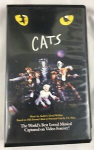 Details about Cats The Musical VHS Tape 1998 Music Andrew Lloyd Webber  Elaine Paige Grizabella