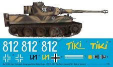 Peddinghaus 1/16 Tiger I Fruhe TIKI Markings Steinhofen 8./SSPzRgt 2 Russia 3265
