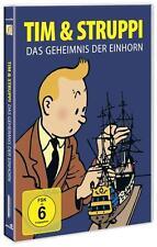 """Tim und Struppi - Das Geheimnis der """"Einhorn"""" - Dvd - Neu/Ovp"""