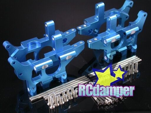 ALUMINUM FRONT+REAR BULKHEAD B TRAXXAS T-MAXX E-MAXX 3.3 CLASSIC 4910 4908 4907