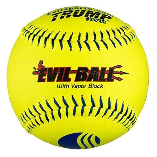 Half Dozen Evil Ball USSSA 12  Softballs 40 cor 325 Compression MP-EVIL-CLAS-...