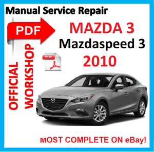 official workshop manual service repair for mazda 3 mazda3 rh ebay co uk repair manual mazda 5 repair manual mazda 2001 b2500 truck