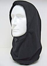 Fleece Hood Balaclava Neck Warmer Face Mask Black NWT