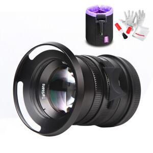 7artisans 55mm/F1 4 APS-C Manual Fixed Lens for Leica Camera+ Focus