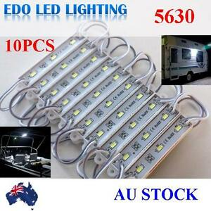 5630-12V-LED-waterproof-Strip-Module-Light-Cool-white-Camping-Boat-Caravan