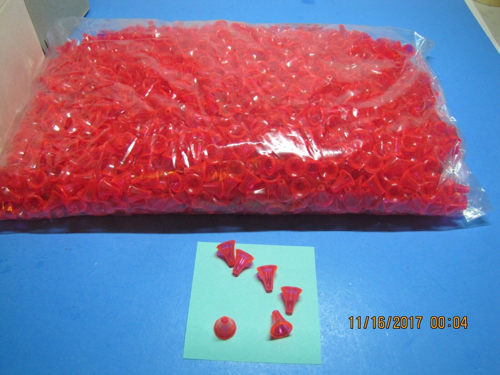 2,000  SALMON  AND  STEELHEAD ROT ROT ROT Tees  FISHING BEADS   make your own lures b2b0db