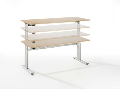Tischgestell elektrisch höhenverstellbar Ergo Version 23 Jahre Garantie