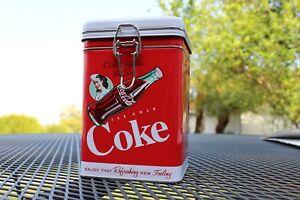 Beautiful-Coca-Cola-Metal-Box-Square-with-Lock-Up
