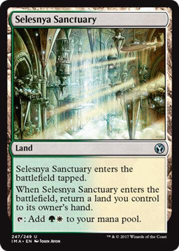 2x Selesnya Sanctuary Iconic Masters MTG Selesnija-Heiligtum