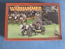 1997 Caos Warrior Chariot Games Workshop Warhammer Army Evil Fighter Knight MIB