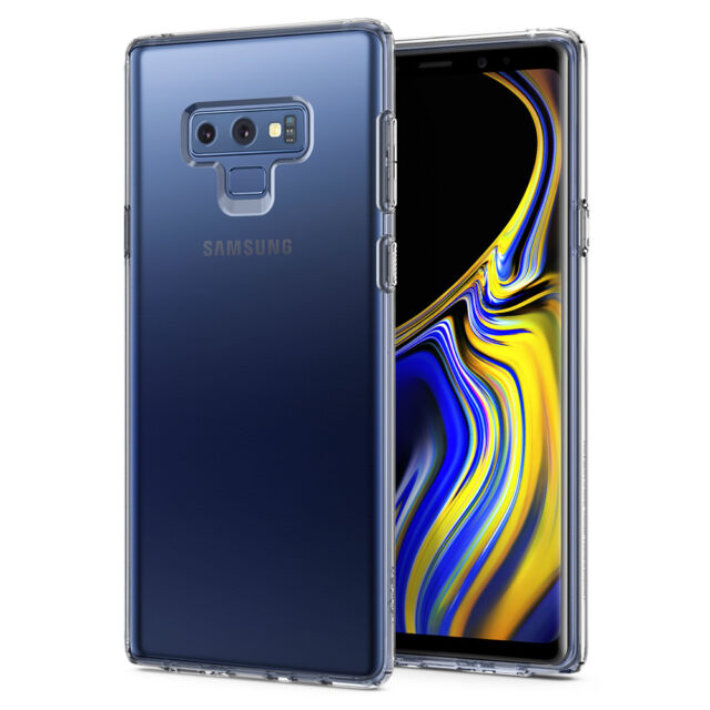 release date: 8dea0 7ba34 Samsung Galaxy Note 9 Case, Spigen® [Liquid Crystal] Clear TPU Protective  Cover