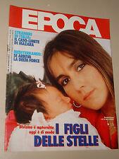EPOCA=1986/1841=ROMINA POWER=PATSY KENSIT=CHARLOTTE LEWIS=CARL=PAOLO VALLORZ=