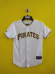 ⚾️PITTSBURGH PIRATES #22 ANDREW MCCUTCHEN MAJESTIC MLB JERSEY BOYS- M (10-12)
