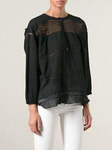 ISABEL-MARANT-ETOILE-039-chay-cotton-blend-voile-vintage-blouse-039-black-top-42