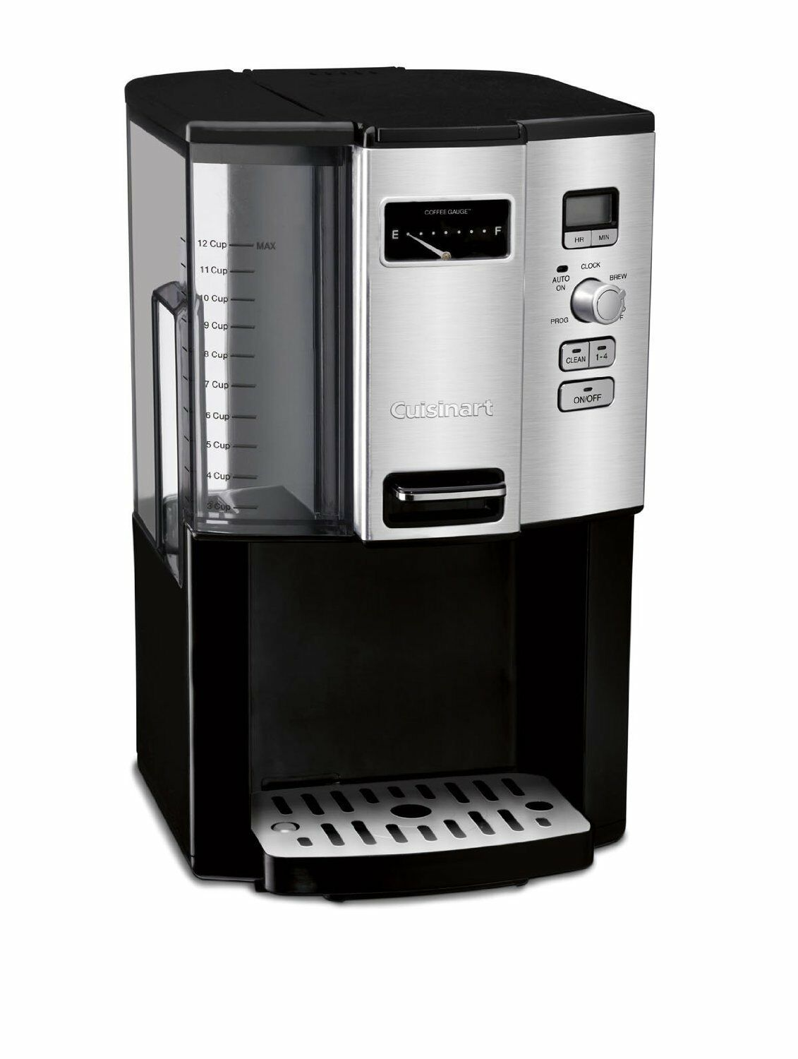 Cuisinart 12-Cup Programmable Coffeemaker w  Removable Water Reservoir, DCC-3000