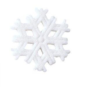 Sugar-Decorations-Cookie-Cake-Cupcake-Winter-Christmas-SNOWFLAKE-12-ct