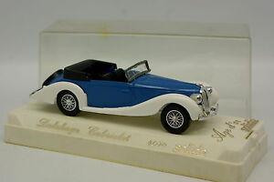 Solido-1-43-Delahaye-Cabriolet-Bleue-Blanche