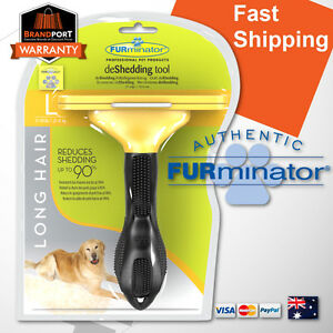 FURminator-for-LARGE-DOG-LONG-hair-brush-comb-BUY-FROM-AUS-AUTHORISED-DEALER