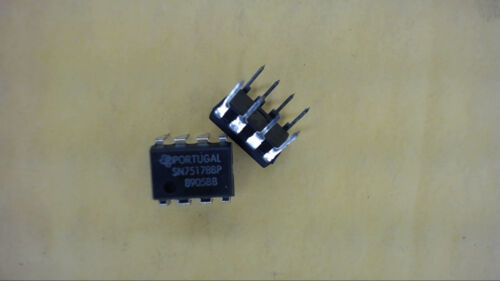 TEXAS INSTRUMENTS SN75178BP 8-Pin Dip RS-422-A//RS-485 Repeater IC New Qty-4